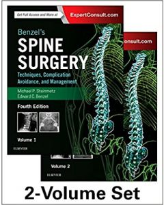 Benzel's Spine Surgery, 2-Volume Set, 4th