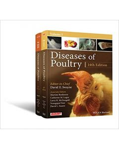 Diseases of Poultry, : 2 Volume Set(14th Edition)