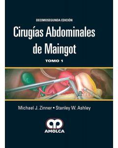 Cirugías Abdominales de Maingot, 2 Vols. 12ed